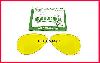 N.O.S! VINTAGE B&L RAY BAN BAUSCH & LOMB 58mm REPLACEMENT LENSES KALICHROME