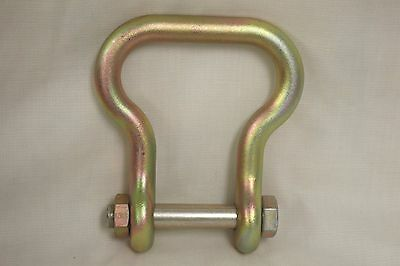 """Shackle, Suspension Clevis 20,000 lb, 4130, 3/4"""" 4030-00-678-8562, 70087AS-2 New"""