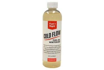 FUEL RIGHT FR-CF-16 Fuel Right® COLD FLOW 12OZ BOTTLE