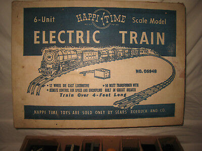 Marx / Sears Excl. Happi Time Electric Train Set W/Box #05948 or #35220   MX8