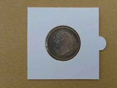 1862 New Brunswick 20 Cents, Lot 556 from DNW auction #92 June 2011 nEF grade.