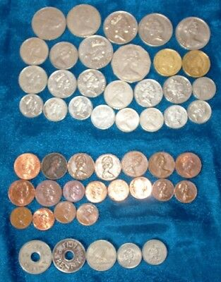 FIJI  -  50 x Coin mix (Some low Issues inc)