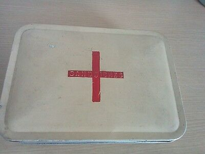 Old Metal Sandwiches Tin Made In England