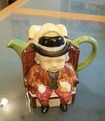 Vintage H J Wood Ltd Darby & Joan tea pot Burslem England