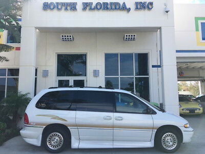 1997 Chrysler Town & Country  Handicap lowered folding ramp lowered floor rollx conversion