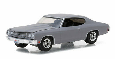 1/64 GREENLIGHT GL MUSCLE SERIES 17 1970 Chevrolet Chevelle SS in Primer Grey