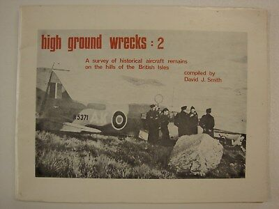 High Ground Wrecks 2, Survey Of Historical Aircraft Remains On British Hills RAF