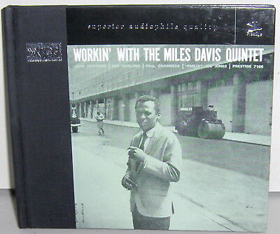 XRCD CD VICJ-60126: Miles Davis Quintet - Workin' With... - 1998 JAPAN OOP NM