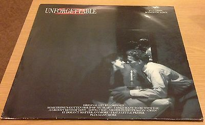 UNFORGETTABLE 2 17 Classic Songs Of Love Vinyl LP Record (1989)