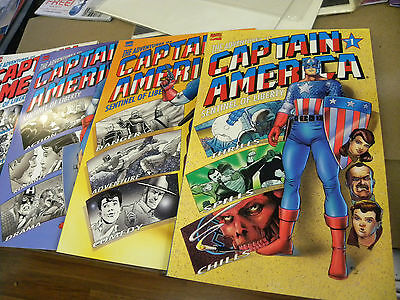 Marvel 1991 all 4 issues THE ADVENTURES OF CAPTAIN AMERICA 1 2 3 4 Maguire $20