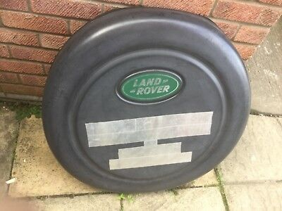 Landrover Discovery spare wheel cover