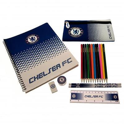 Chelsea Ultimate Stationery Set Pencil Gift Official Licensed Football Product