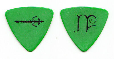 A Perfect Circle Paz Lenchantin Green Bass Guitar Pick - 2000 Tour