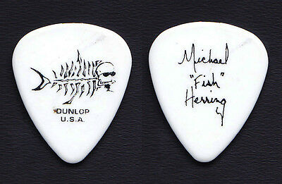 Christina Aguilera Michael Fish Herring Signature White Tour Guitar Pick