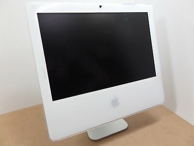 "Apple iMac A1208 17"" Core 2 Duo 1GB 160GB White w/ Some Small Scratches QTY!"