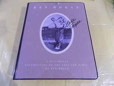Ben Hogan A Hard Case From Texas VHS Limited Edition