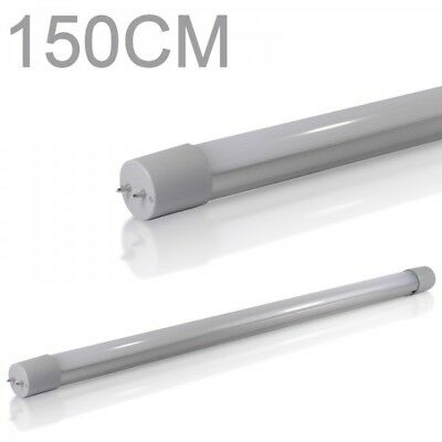 10X LED Tube lumiere Tube fluorescent T8 G13 150cm 4000k 3200lm blanc froid 24W