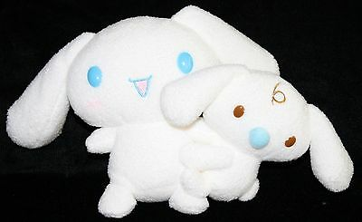 "Cinnamoroll Soft Toy KAWAII 6"" Sanrio White Plush Doll Stuffed Animal Blue Eyes"