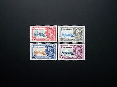 Virgin Islands Stamps 1935 Year Complete Set, Scott # 69-72. Mh