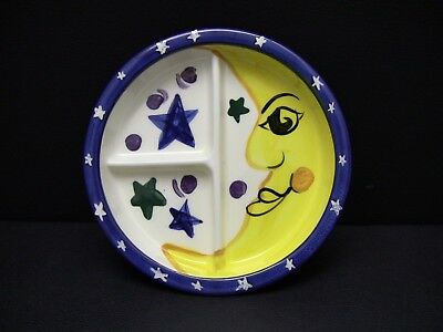 Vicki Carroll Moon & Star Divided Child's Plate