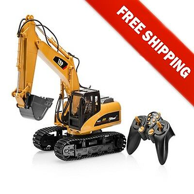 Remote Control Excavator RC Construction Tractor Car Vehicle Truck Toy 15Channel