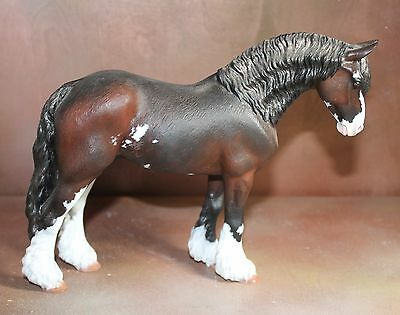 North Light model Horse Fresian Body for Customizing CM, like Breyer