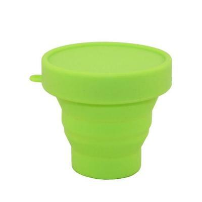 Portable Silicone Telescopic Drink Collapsible Fold Cup Travel Camping Best