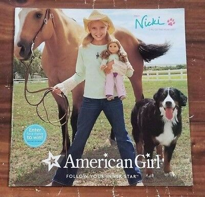 VGUC American Girl Doll AG Catalog Magazine Girl of the Year 2007 Nicki