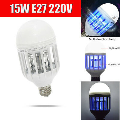 Zapplight - Dual LED Lightbulb and Bug Light Zapper, Zap Mosquitoes, Flies, W...