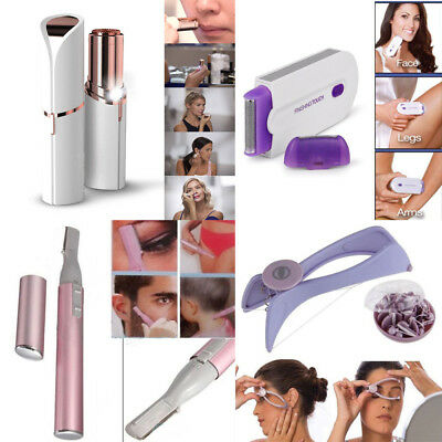 Women's Painless Facial Face Body Flawless Hair Removal Remover Trimmer Shaver Q