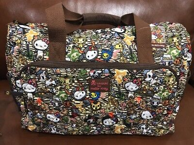 Tokidoki For Hello Kitty: Summer Safari Overnight Bag (AAA)