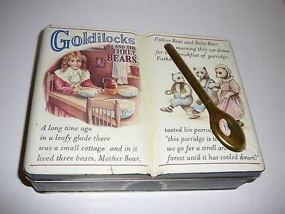 Clarkes Cookie Co. Story Biscuit Tin Goldilocks and the Three Bears