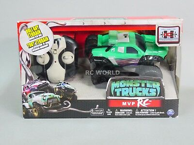 RC Monster Trucks Movie Green MVP RC Remote Control MONSTER TRUCK Spin Master