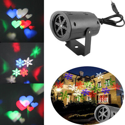Outdoor Moving Projector Laser LED Garden Xmas Halloween Light Stage Party Decor