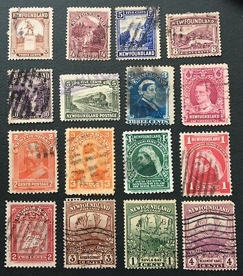 Newfoundland Stamps Assorted Lot 110