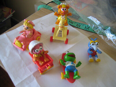 Mcdonalds The Muppet Babies 1986 Figures-Used