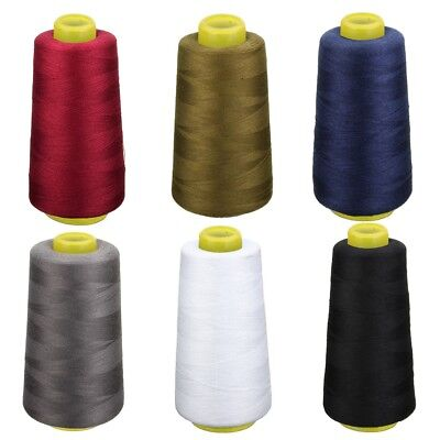 for Machine Cones Yards Sewing Thread 3000 Sewing Quilting Polyester 6 Colors