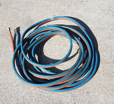 10 Meter Used Oxy Acetylene Hose with Fittings