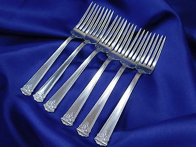 *1* International Trianon Sterling Silver Youth Fork – Good Estate Condition