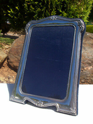 Sterling Silver Photo Frame -  R. Carr of Sheffield - Victorian Style 2000