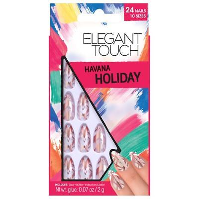Elegant Touch VACANCES COLLECTION faux ongles - Havane (24 ongles)