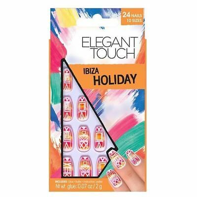 Elegant Touch VACANCES COLLECTION faux ongles - Ibiza (24 ongles)