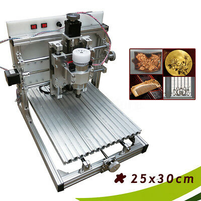 AU 25x30cm CNC Router Engraver Engraving Desktop Carving Cutting Cutter Machine