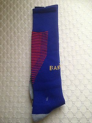 Barcelona Football Socks. One Size To Fit 5-12 Years Old . Kids Sizes 2017/18