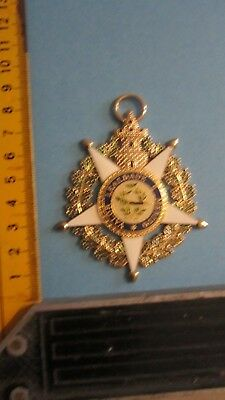 MEDAILLE DECORATION ORDRE A IDENTIFIER No 4