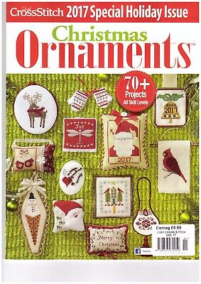 Just Cross Stitch 2017 Special Holiday Issue Magazine - Christmas Ornaments 2017