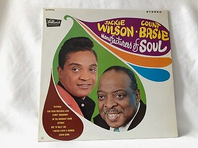 """JACKIE WILSON & COUNT BASIE """"Manufacturers of Soul"""" -CANADIAN RELEASE!!"""