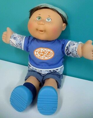 Cabbage Patch Kids 16 inch boy , glow in the dark hair and outfit
