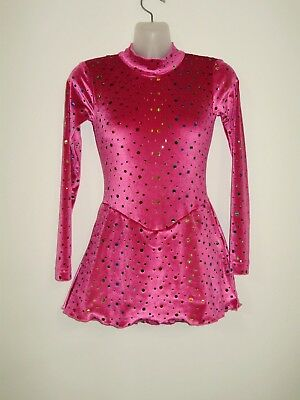 ICE/ROLLER SKATING Dress Girls SIZE 12 NEW DS Designs