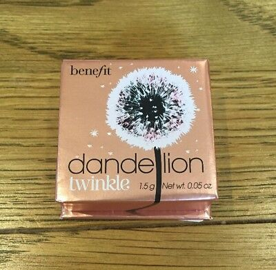 New Benefit Dandelion Twinkle Highlighting Powder Mini 1.5g